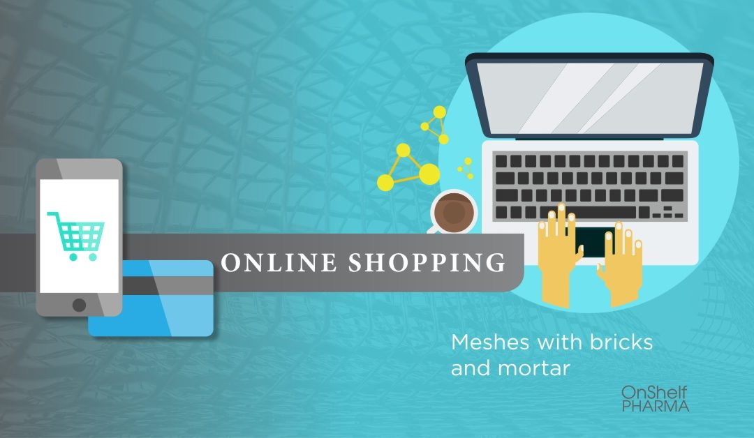 Online Shopping Meshes with Bricks and Mortar